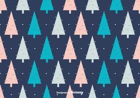 Winter Bäume Hintergrund vektor