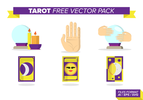Tarot free vector pack