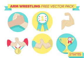 Arm brottning Gratis Vector Pack