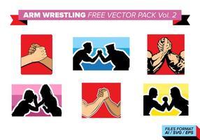 Arm wrestling kostenlos vektor pack vol. 2