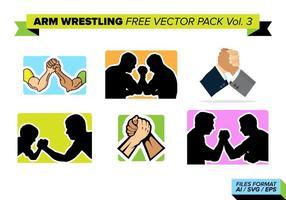 Arm wrestling kostenlos vektor pack vol. 3