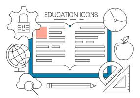 Gratis Utbildning Ikoner vektor