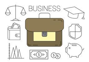 Gratis Business Ikoner vektor