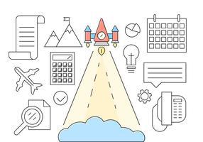 Kostenlose Startup Vector Collection
