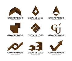 Wachsen Logo auf