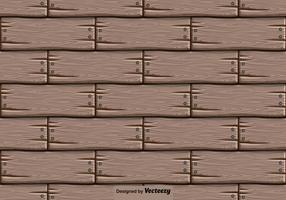 Vector Hölzerne Hintergrund - Nahtlose Muster