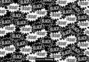 Schwarzes Freitag Nahtloses Muster vektor
