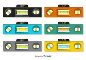 Ebene Vektor 3d Icons