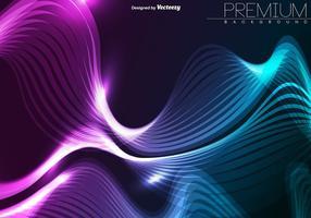 Vector Pink und Blue Technologic Wave
