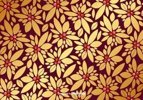 Vector Weihnachten Golden Pattern