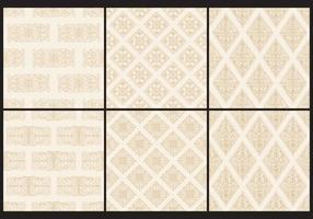 Sepia Monochromatische Toile Patterns