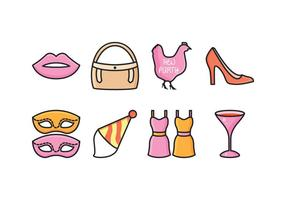 Kostenlose Hen Party Icons