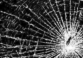 Frei gebrochene Fenster Vektor-Illustration
