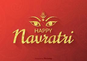 Free Vector Happy Navratri Hintergrund