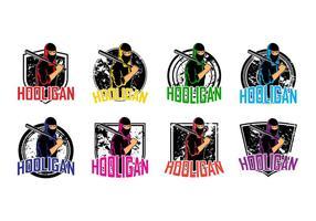 Kostenlose Hooligans Logo Vektor