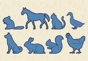 Tiere Haustiere Vektor