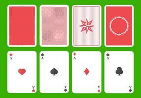Kostenlose Spielkarte Vektor