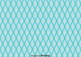 Blått fisknät sömlöst mönster vektor