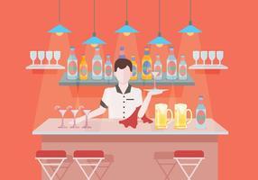 Barman-Vektor vektor
