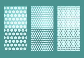 Bubble Wrap Vektor Muster nahtlose