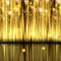 Feierhintergrund mit Goldballons