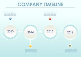 Milestone Company Fortschritte vektor