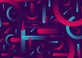 abstrakter trendiger geometrischer Hintergrund der einfachen Form vektor
