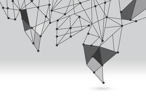 Zusammenfassung mit niedrigem Polygeometrie vektor