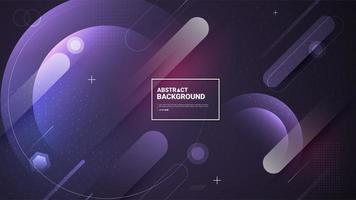 moderner und lila abstrakter Hintergrund vektor