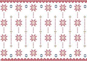 Muster der indonesischen Songket Illustration vektor