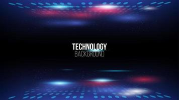 abstrakter High-Tech-Technologie-Hintergrund