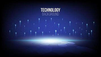 abstrakter High-Tech-Technologie-Hintergrund vektor