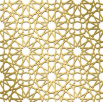 traditionellt islamiskt mönster