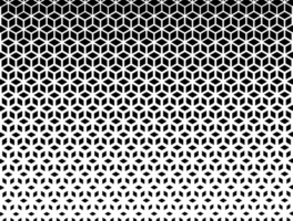 halvton kub geometriska mönster