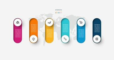 modern infographic formgivningsmall vektor