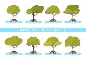 Kostenlose Mangrove Bäume Vektor