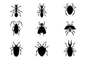 Freie Schädlingsbekämpfung Vektor-Symbol