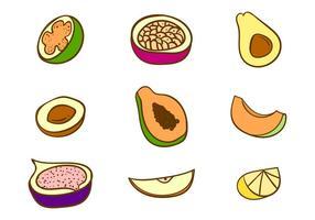 Freie Früchte Vektor