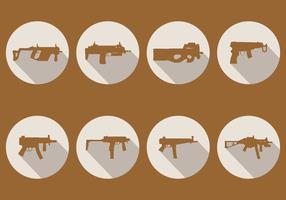 Sub Machine Gun Vektoren