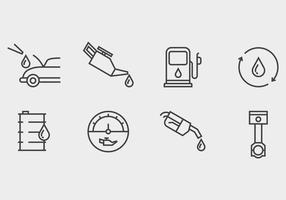 Ölwechsel Icon vektor