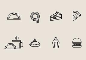 Gebackene Süßigkeiten Icon vektor