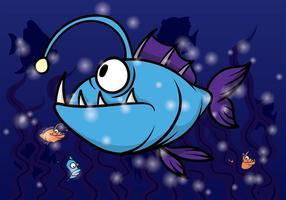 Angler Fisch Vektor