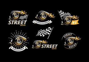 Turbolader Logo Freier Vektor
