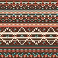 nahtloses Muster der ethnischen Stämme
