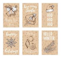 Weihnachtskartensammlung
