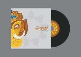 Ganesh Vorlage Illustration vektor