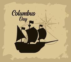 Columbus Tagesgrußkarte