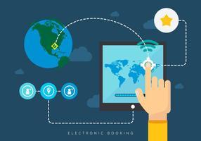 Kombinieren Sie elektronische Buchung