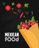mexikanisches Essen Design