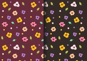 Gratis Floral Pattern Vector